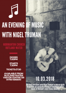 An Evening of Music with Nigel Truman @ Normanton Church | England | United Kingdom
