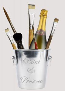 Paint & Prosecco @ Garden Room Studio | England | United Kingdom
