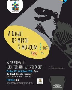 A Night of Mirth at the Museum 2 @ Rutland County Museum