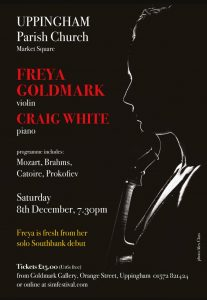 Freya Goldmark Winter Recital @ Uppingham Parish Church