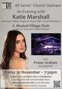 Classical Concert - An Evening with Katie Marshall inc Choir @ All Saints Church Church Street Oakham LE15 6AA