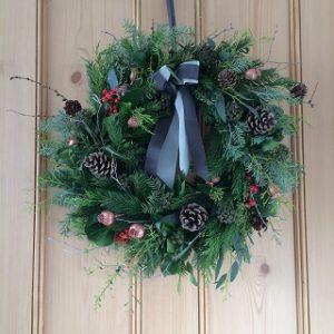 Christmas Wreath Workshop @ Barnsdale Gardens