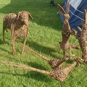Willow Animal Workshop @ Barnsdale Gardens