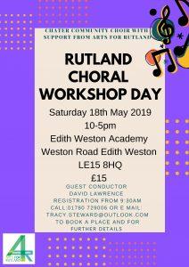 Rutland Choral Workshop @ Edith Weston Academy