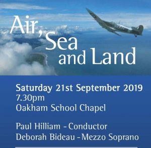 Land, Sea and Air @ Oakham School Chapel